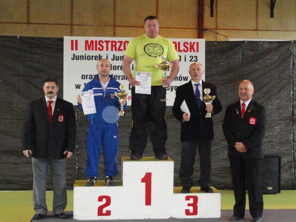 Mistrzostwa Polski Juniorów i Seniorów w Wyciskaniu Klasycznym Sztangi Leżąc