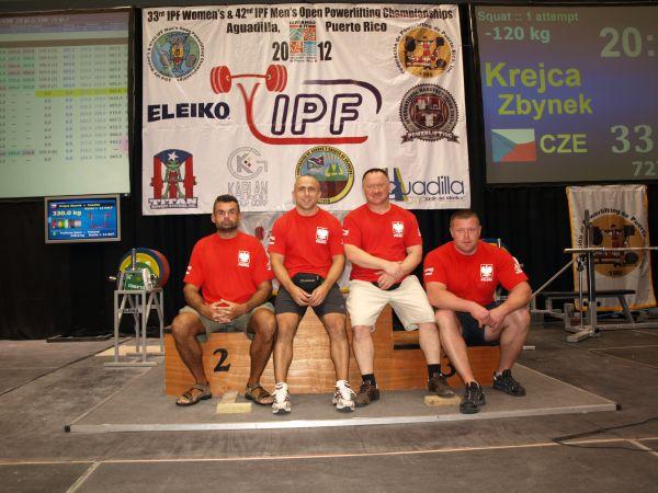 Mistrzostwa Świata w Trójboju Siłowym Seniorów w Puerto Rico (Aquadilla)