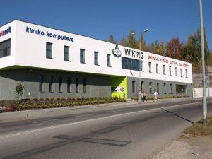 Klub Sportowy Sportow Silowych i Kulturystyki WIKING - budynek